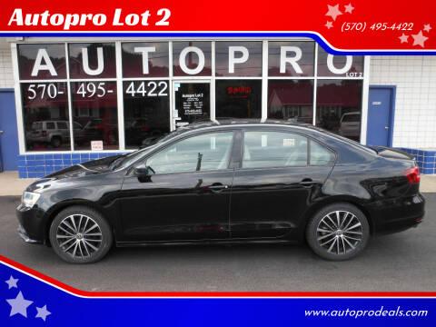 2015 Volkswagen Jetta for sale at Autopro Lot 2 in Sunbury PA