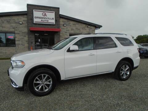 2014 Dodge Durango for sale at GREENVILLE AUTO & RV in Greenville WI
