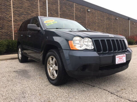 2008 Jeep Grand Cherokee for sale at Classic Motor Group in Cleveland OH
