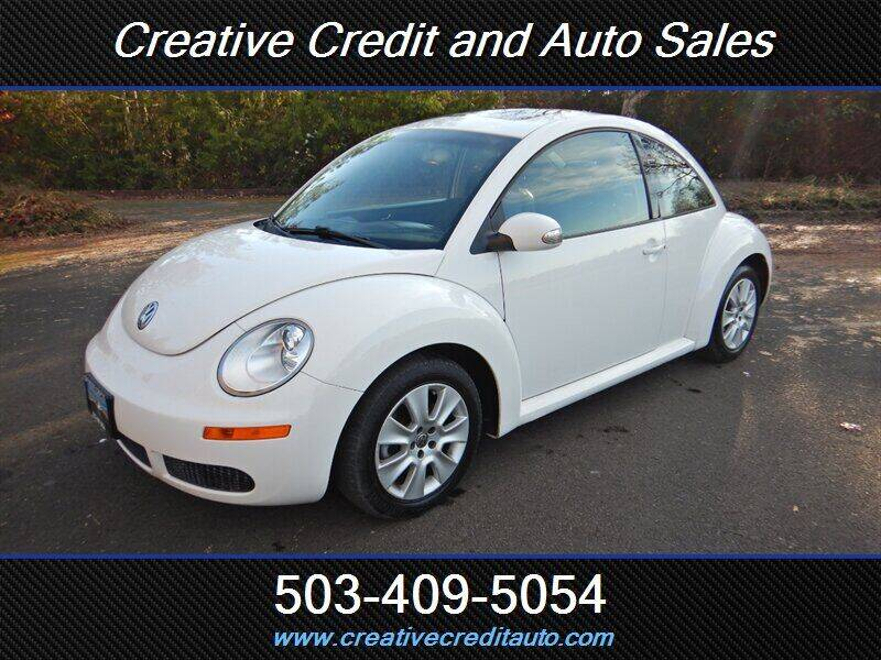 2009 Volkswagen New Beetle for sale at Creative Credit & Auto Sales in Salem OR