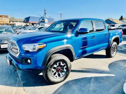 2017 Toyota Tacoma for sale at Sunset Motors in Manteca CA