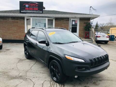 2018 Jeep Cherokee for sale at I57 Group Auto Sales in Country Club Hills IL