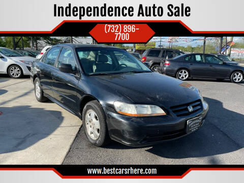 2002 Honda Accord for sale at Independence Auto Sale in Bordentown NJ