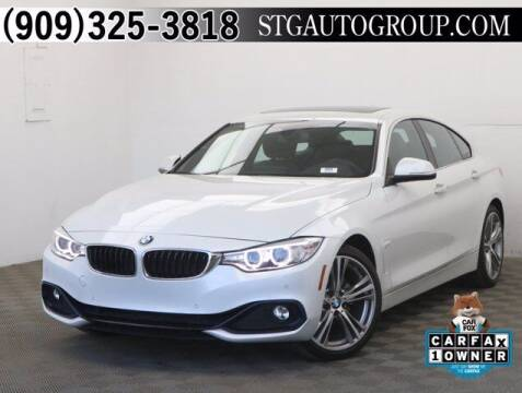 2017 BMW 4 Series for sale at STG Auto Group in Montclair CA