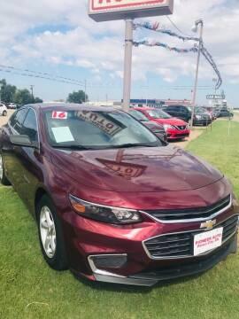 2016 Chevrolet Malibu for sale at Pioneer Auto in Ponca City OK