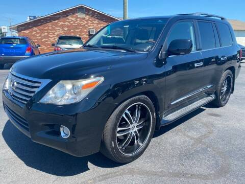 2011 Lexus LX 570 for sale at Modern Automotive in Boiling Springs SC