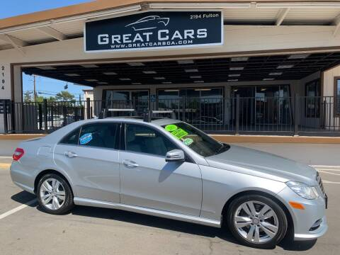 2013 Mercedes-Benz E-Class for sale at Great Cars in Sacramento CA