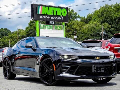 2016 Chevrolet Camaro for sale at Metro Auto Credit in Smyrna GA