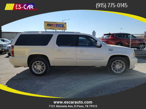 2014 Cadillac Escalade ESV for sale at Escar Auto in El Paso TX
