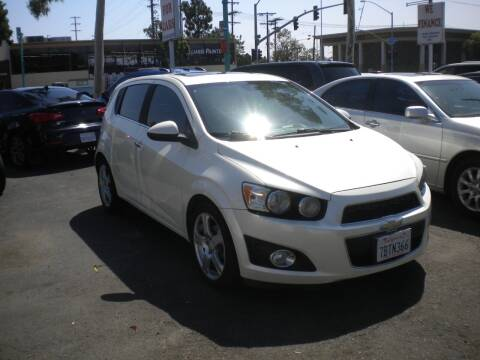 2013 Chevrolet Sonic for sale at AUTO SELLERS INC in San Diego CA
