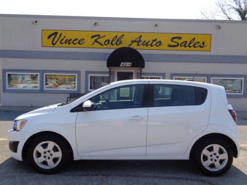 2016 Chevrolet Sonic for sale at Vince Kolb Auto Sales in Lake Ozark MO