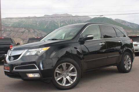 2013 Acura MDX for sale at REVOLUTIONARY AUTO in Lindon UT