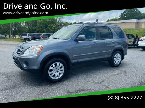 2005 Honda CR-V for sale at Drive and Go, Inc. in Hickory NC