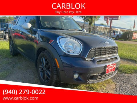 2011 MINI Cooper Countryman for sale at CARBLOK in Lewisville TX