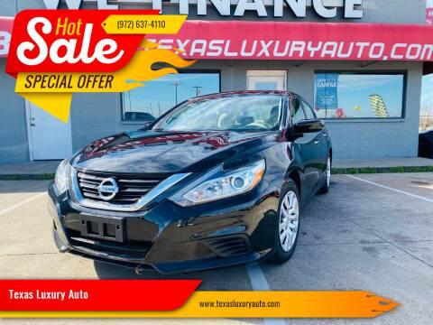 2017 Nissan Altima for sale at Texas Luxury Auto in Cedar Hill TX