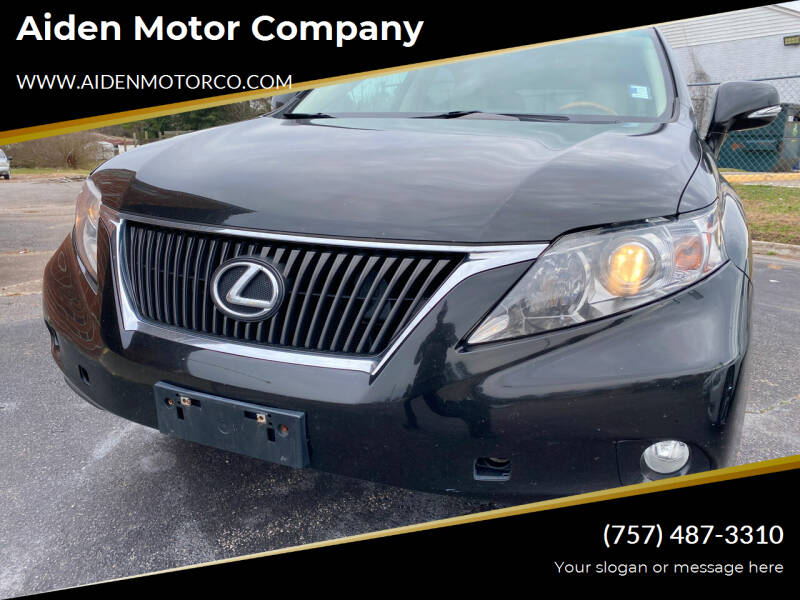 2011 Lexus RX 350 for sale at Aiden Motor Company in Portsmouth VA