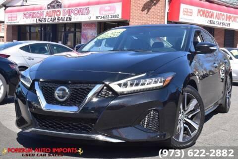 2020 Nissan Maxima for sale at www.onlycarsnj.net in Irvington NJ