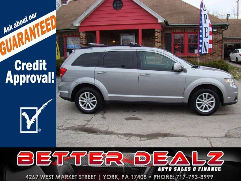 2016 Dodge Journey for sale at Better Dealz Auto Sales & Finance in York PA