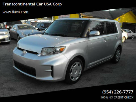 2011 Scion xB for sale at Transcontinental Car USA Corp in Fort Lauderdale FL