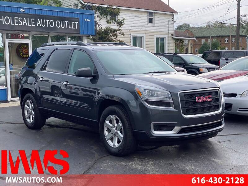 2014 GMC Acadia for sale at MWS Wholesale  Auto Outlet in Grand Rapids MI