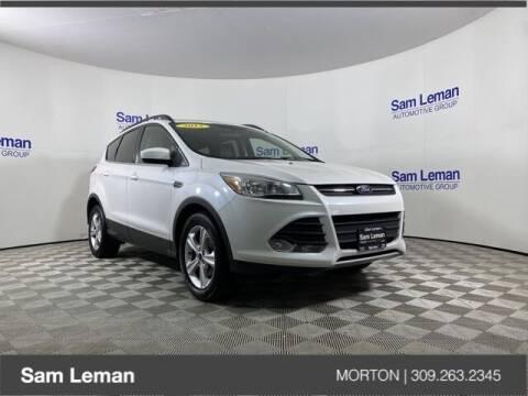 2015 Ford Escape for sale at Sam Leman CDJRF Morton in Morton IL