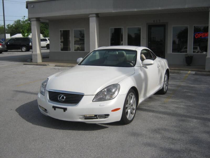 2006 Lexus SC 430 for sale at Premier Motor Co in Springdale AR