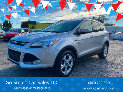 2015 Ford Escape for sale at Go Smart Car Sales LLC in Winter Garden FL