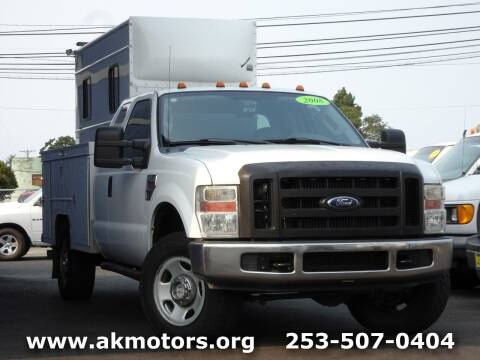 2008 Ford F-350 Super Duty for sale at AK Motors in Tacoma WA