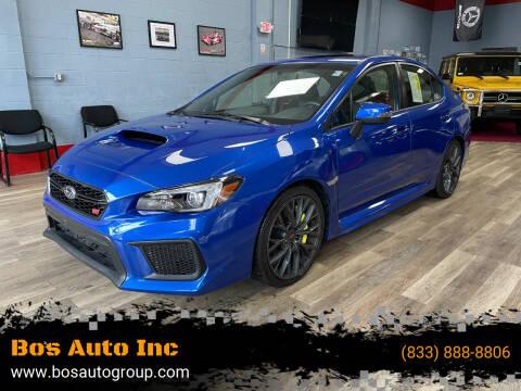 2019 Subaru WRX for sale at Bos Auto Inc in Quincy MA