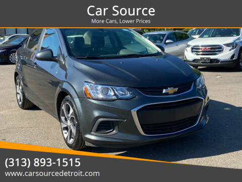 2020 Chevrolet Sonic for sale at Car Source in Detroit MI