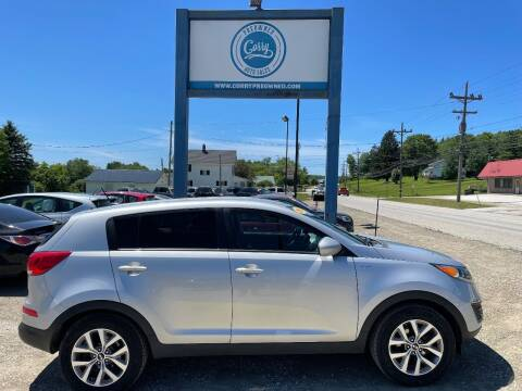 2016 Kia Sportage for sale at Corry Pre Owned Auto Sales in Corry PA