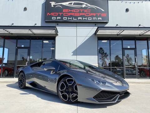 2016 Lamborghini Huracan for sale at Exotic Motorsports of Oklahoma in Edmond OK