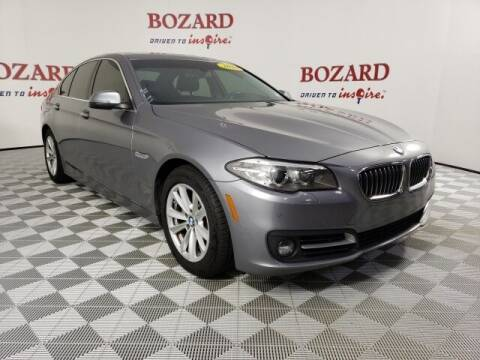 2016 BMW 5 Series for sale at BOZARD FORD in Saint Augustine FL