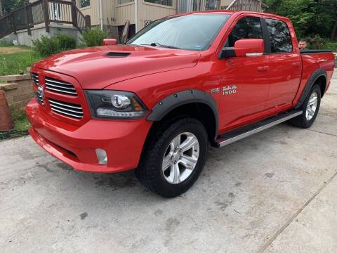 2013 RAM Ram Pickup 1500 for sale at Capital Mo Auto Finance in Kansas City MO