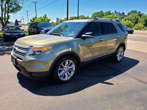 2012 Ford Explorer for sale at Premier Motors LLC in Crystal MN
