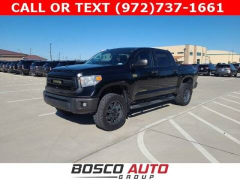 2014 Toyota Tundra for sale at Bosco Auto Group in Flower Mound TX