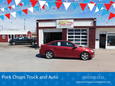 2012 Chevrolet Cruze for sale at Pork Chops Truck and Auto in Cheyenne WY
