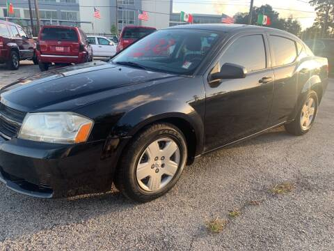 2010 Dodge Avenger for sale at FAIR DEAL AUTO SALES INC in Houston TX