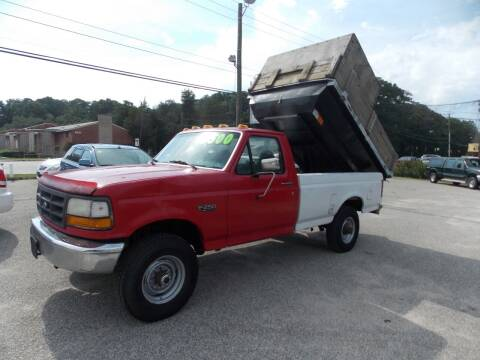 1995 Ford F-250 for sale at Deer Park Auto Sales Corp in Newport News VA