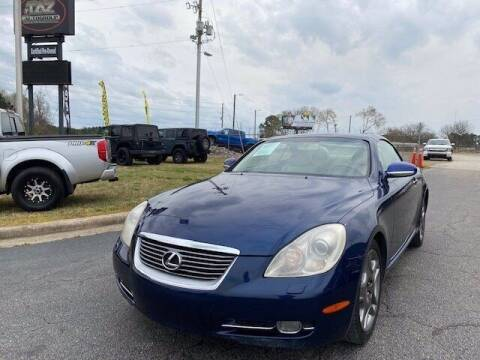 2006 Lexus SC 430 for sale at J T Auto Group in Sanford NC