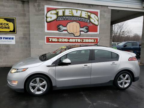 2012 Chevrolet Volt for sale at Steve's Automotive Inc. in Niagara Falls NY