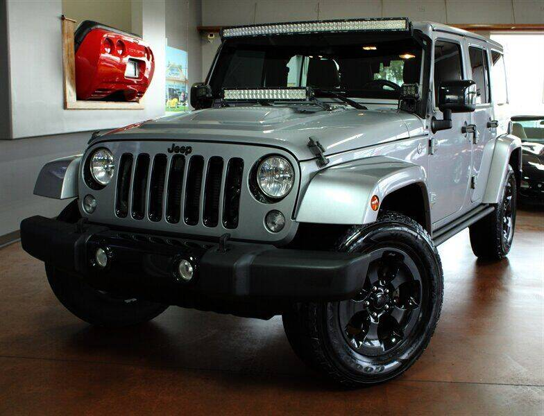 2015 Jeep Wrangler Unlimited for sale at Motion Auto Sport in North Canton OH
