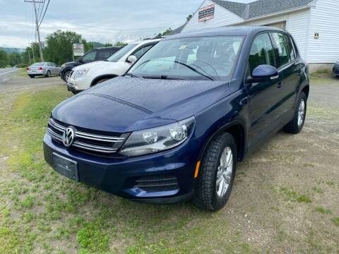 2012 Volkswagen Tiguan for sale at Wright's Auto Sales LLC in Townshend VT