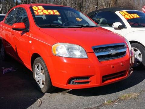 2008 Chevrolet Aveo for sale at Budget Auto Sales & Services in Havre De Grace MD