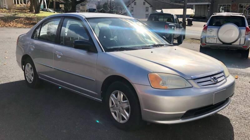2003 Honda Civic for sale at Mayer Motors of Pennsburg - Green Lane in Green Lane PA