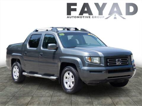 2008 Honda Ridgeline for sale at FAYAD AUTOMOTIVE GROUP in Pittsburgh PA