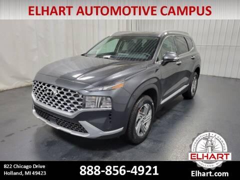 2021 Hyundai Santa Fe for sale at Elhart Automotive Campus in Holland MI