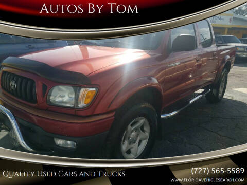 2002 Toyota Tacoma for sale at Autos by Tom in Largo FL