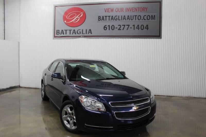 2010 Chevrolet Malibu for sale at Battaglia Auto Sales in Plymouth Meeting PA