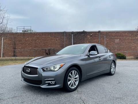 2014 Infiniti Q50 for sale at RoadLink Auto Sales in Greensboro NC